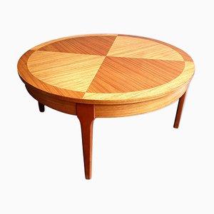 Mesa de centro Mid-Century de madera