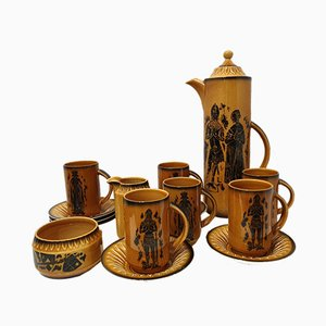 Vintage Coffee Set from Crown Devon, 1970s