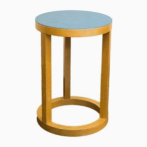 Table de Chevet en Plastique et Contreplaqué par Trix Haussmann pour Horgenglarus, 1960s