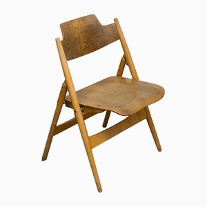 Vintage SE18 Folding Chair by Egon Eiermann for Wilde+Spieth