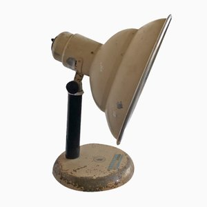 Vintage Industrial Austrian Spot Light Table Lamp from Astralux, 1950s