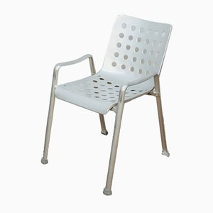 Vintage Industrial Aluminum Garden Chair by Hans Coray for Mewa