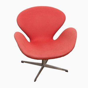 Vintage Swan Chair by Arne Jacobsen for Fritz Hansen, 1970s