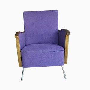 Vintage Purple Lounge Chair