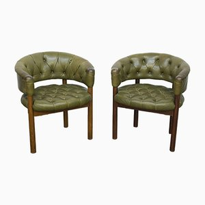 Vintage Armchairs by Trix Haussmann for Dietiker, Set of 2