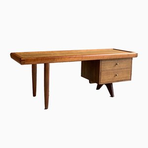 Oak and Walnut Coffee Table by George Nakashima for Widdicomb, 1950s