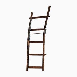 Vintage Rustic Wagon Ladder, 1920s