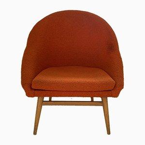 Vintage Sessel mit Gestell aus Buche von Heczendorfer László, 1960er