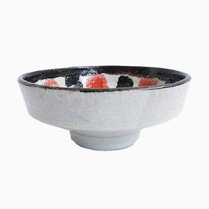 Cuenco italiano Mid-Century de cerámica de Ferri para Ferri, años 50