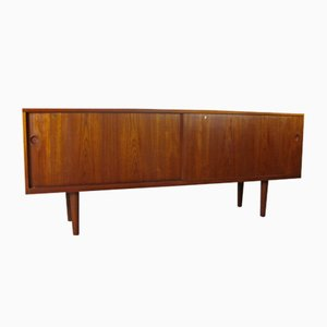 Danish RY 26 Teak Cabinet by Hans J. Wegner for AP Stolen, 1950s