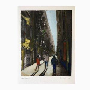 Affiche Retratos de Barcelona 06 par Paul Davies, 2017