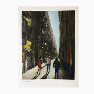 Retratos de Barcelona 06 Druck von Paul Davies, 2017