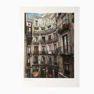 Fotografia digitale Retratos de Barcelona 03 in anilina di Paul Davies, 2017