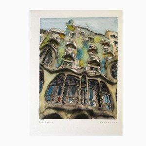 Retratos de Barcelona Poster 02 by Paul Davies, 2017