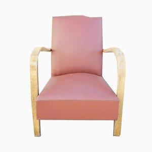 Moustache Sessel mit Gestell aus Bugholz, 1940er, 2er Set