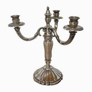 Antiker Kerzenständer aus Metall von Chrysalia