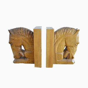 Art Deco Bookends, 1920s, Set of 2