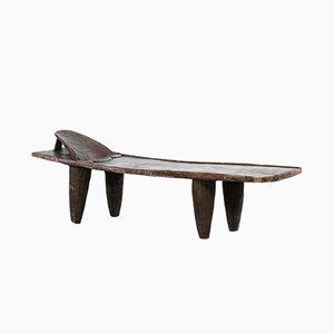 Table Basse Senoufo Mid-Century en Bois, 1940s