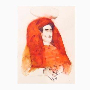 Disegno su carta Sin Título I di Toni Molins, 2017