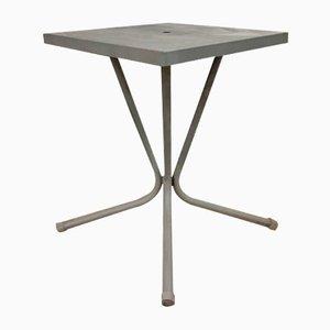 Französischer Mid-Century Gartentisch aus Metall, 1950er