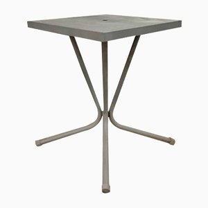 Mid-Century French Metal Garden Table, 1950s