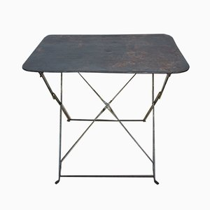 Mid-Century Metal Garden Table, 1950s