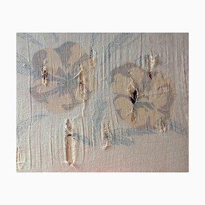 Serigrafia Flowered Couch II di Allison Brown, 2017