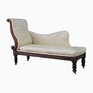 Antique Mahogany Chaise Lounge