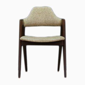 Danish Oak Compass Chairs by Kai Kristiansen, 1960s, Set of 6