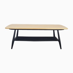Beech and Elm Coffee Table by Lucian Ercolani for Ercol, 1960s