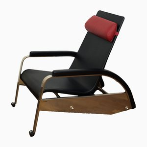 Italian Grand Repos D80 Chair by Jean Prouvé for Tecta, 1980s