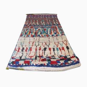 Alfombra marroquí Mid-Century de lana bereber, años 50
