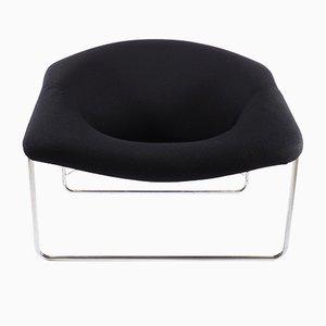 Französischer Cubic Sessel mit Gestell aus Aluminium von Olivier Mourgue für Airborne, 1968