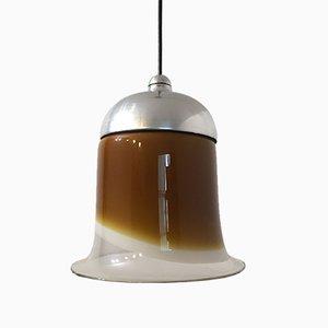 Lampada vintage in vetro di Peill & Putzler, Germania, anni '60
