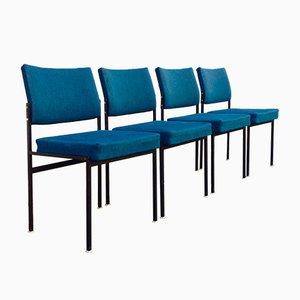 Vintage Esszimmerstühle von Thonet, 1960er, 4er Set