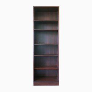 Librería danesa vintage de madera de Poul Hundevad, años 80