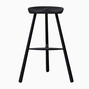 Chaise de Cordonnier N°78 Teintée Noire de Form&Refine