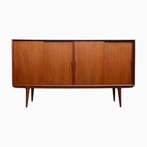 Mid-century Danish No. 19 Teak Sideboard from Omann Jun