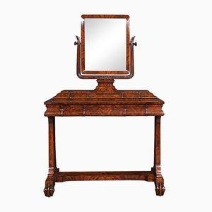 Antique William IV Style Mahogany Dressing Table