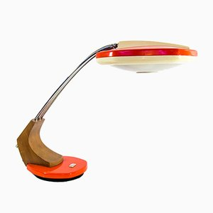 Mid-Century Falux Desk Lamp from Fase, 1960s