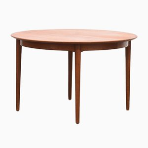 Mesa de comedor extensible modelo 204 vintage de Helge Sibast para Sibast