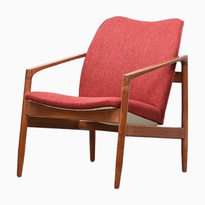 Danish Teak Lounger by Kai Kristiansen, 1960s