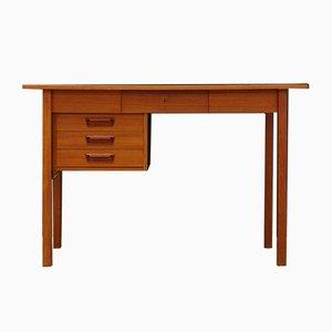 Dänischer Mid-Century Schreibtisch aus Teak von Gunnar Nielsen Tibergaard, 1960er