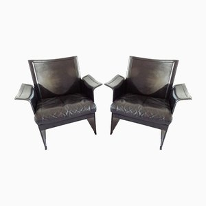 Korium Lounge Chairs by Tito Agnoli for Matteo Grassi, 1970s, Set of 2
