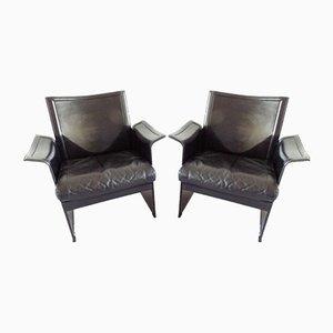 Korium Sessel von Tito Agnoli für Matteo Grassi, 1970er, 2er Set