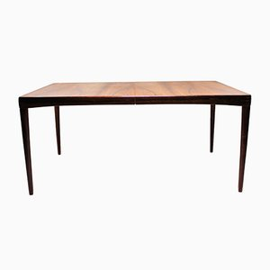 Scandinavian Modern Danish Rosewood Dining Table by H. W. Klein for Bramin, 1966