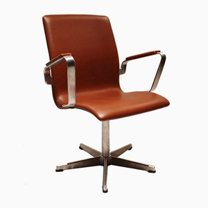 Sedia da ufficio nr. 3271 di Arne Jacobsen per Fritz Hansen, Danimarca, 1988