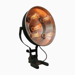 Vintage Industrial Black Metal Medical Lamp