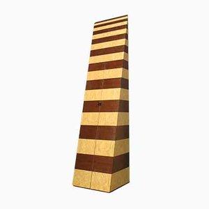 Wood and Maple Cabinet by Trix & Robert Haussmann for Röthlisberger, 1980s