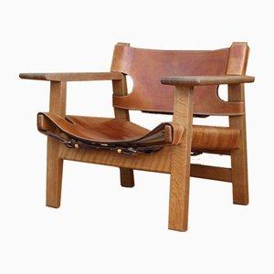 Danish Model 2226 Spanish Chair by Hans J. Wegner for Fredericia, 1958